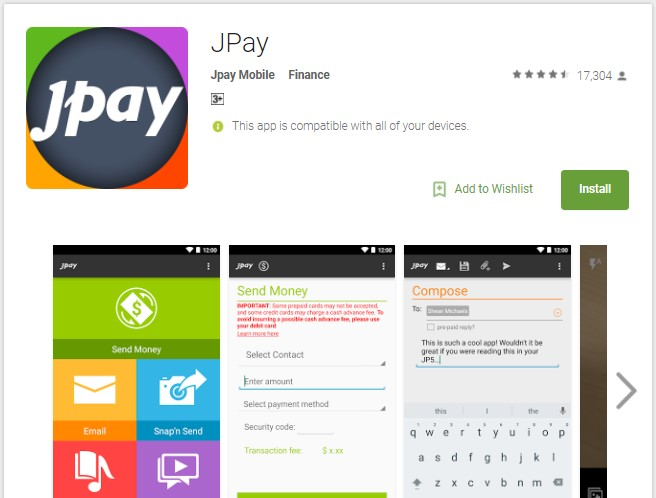JPay Mobile App Download