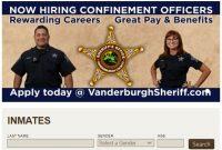 Inmate Lookup Vanderburgh County