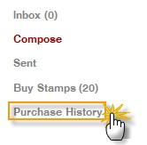 click on the'Purchase History'