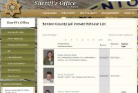 click on the Inmate Release Report link.