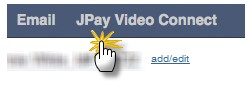 click on the JPay Video Connect