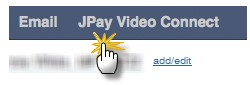 click on the JPay Video Connect1
