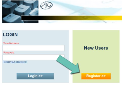 click on the yellow button which says Register
